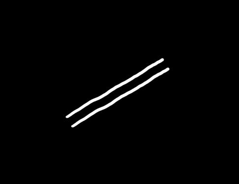 Картинки по запросу Нарисуйте на листе бумаги две параллельные линии